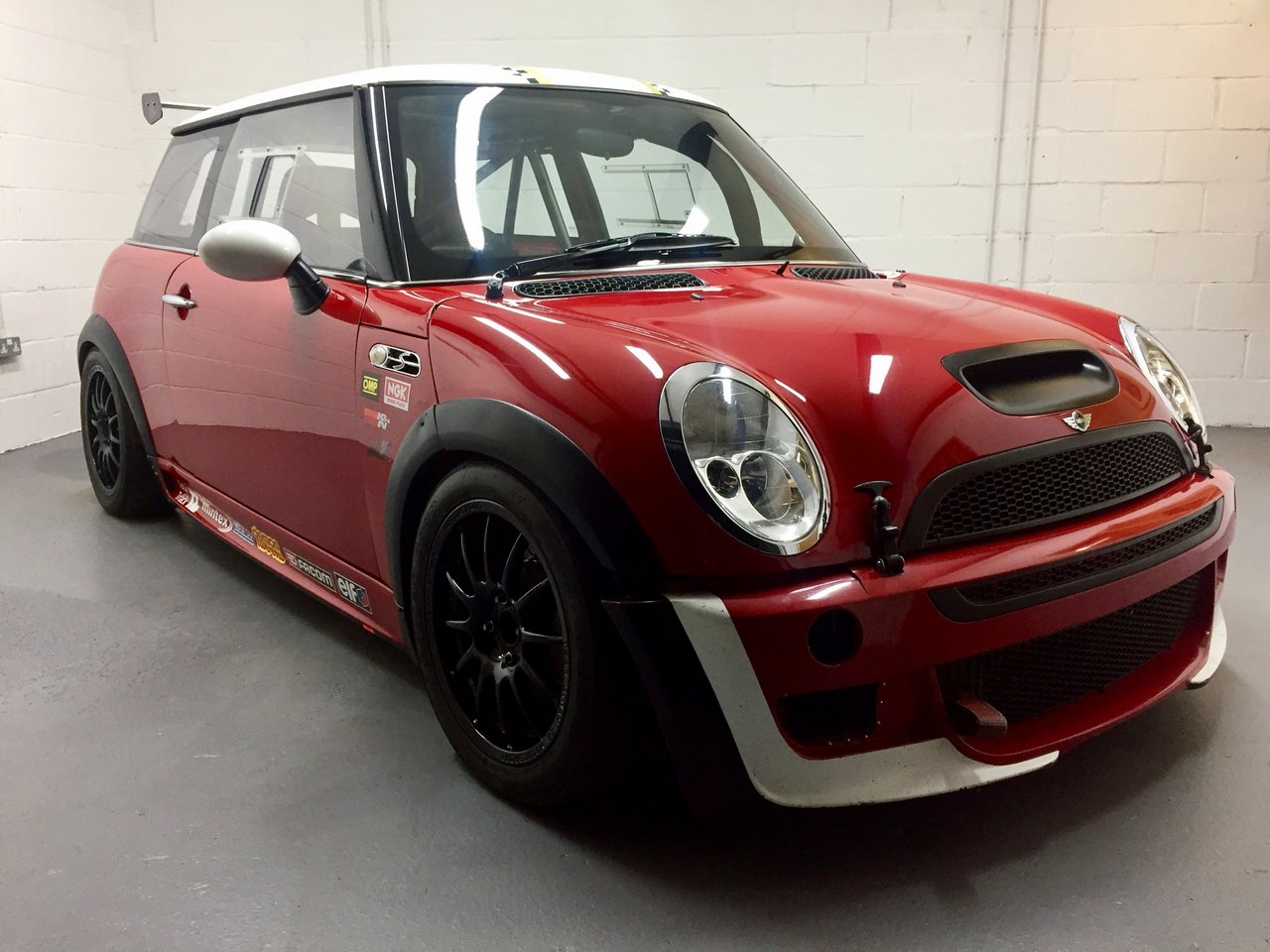 JCW Mini Cooper Challenge Race Car   Bure Valley Classics