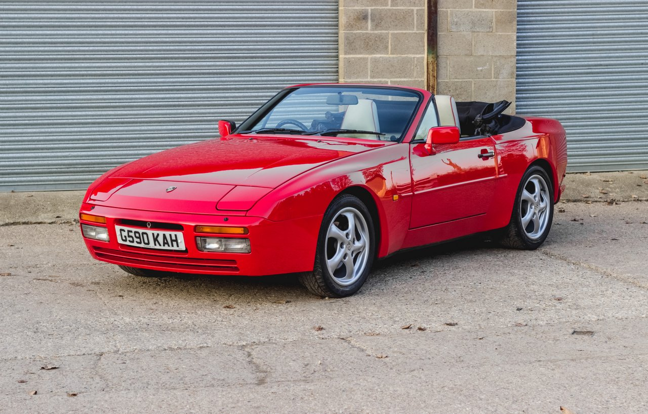 porsche 944 s2 cabriolet bure valley classics. Black Bedroom Furniture Sets. Home Design Ideas