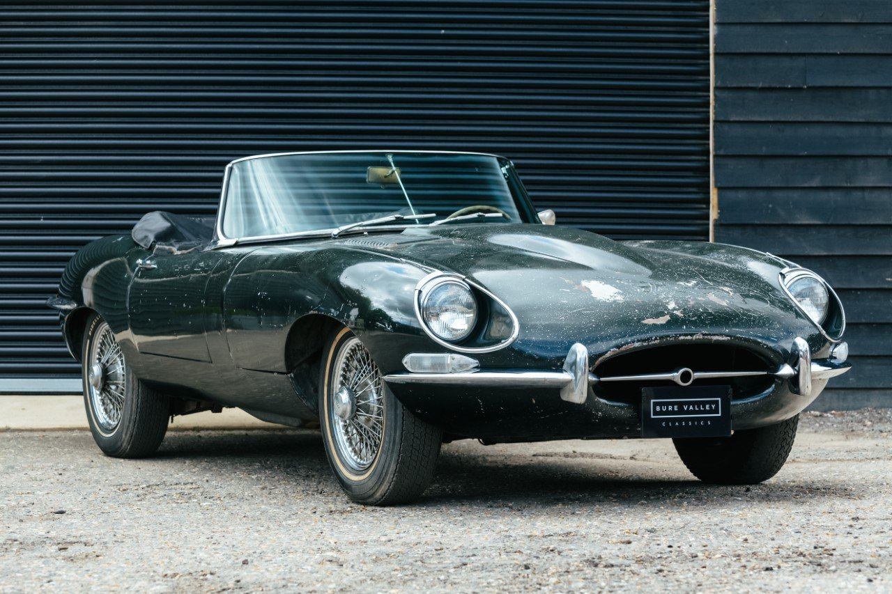 Jaguar E Type S1 5 Roadster Bure Valley Classics